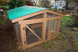 Another nicely designed very pretty medium sized coop.