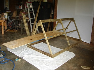 Building a Chicken Tractor