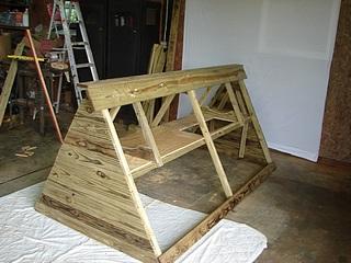 Building a Chicken Tractor